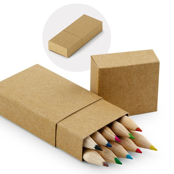 Diy cardboard storage boxes - Box Of 10 Pencils Gift And Bag Importer And Disrtibutor Of Promotional