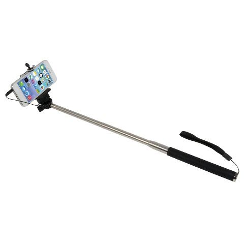 selfie stick with jack cable and button. Black Bedroom Furniture Sets. Home Design Ideas