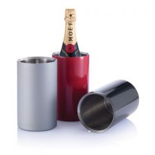 Stainless steel bucket for wine cooling