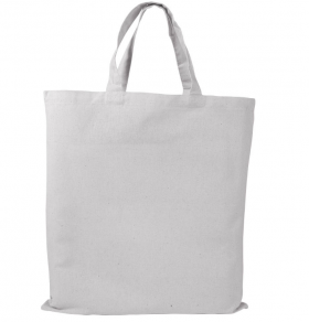 Cotton shopping bags white