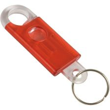 Plastic keychains with carabiner