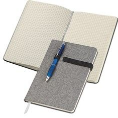 Notebook in A5 format with 160 squared pages