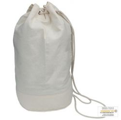 Cotton duffle bag ECO Tex standard 100 certified