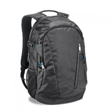 Laptop backpack of jacquard