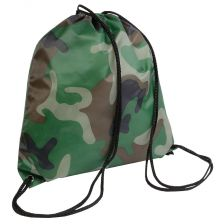 Nylon drawstring backpack