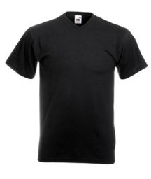 Men's T-Shirt Fruit of the Loom VALUEWEIGHT V-neck