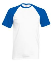Men's T-Shirt Fruit of the Loom VALUEWEIGHT BASEBALL T