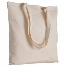 Cotton shopping bags with cotton textile 120g/m2