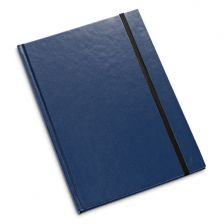 A5 notebook, blue hardcover