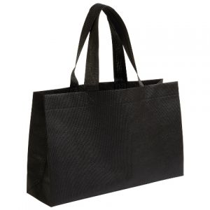 Shopping bag non-woven textile