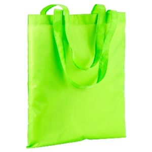 Polyester fluo colour shopper