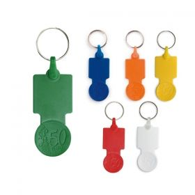 Keyrings with 50 cents