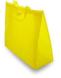 Blue non woven shopping bag