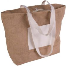 Bag with cotton handles