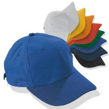 Six panel cotton/polyester cap 1832