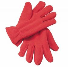 Single size fleece gloves