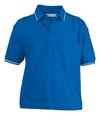 Cotton men's polo shirt 18012