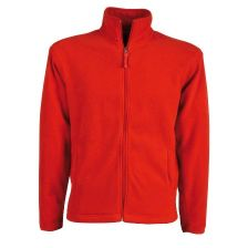Full zip fleece sweatshirt